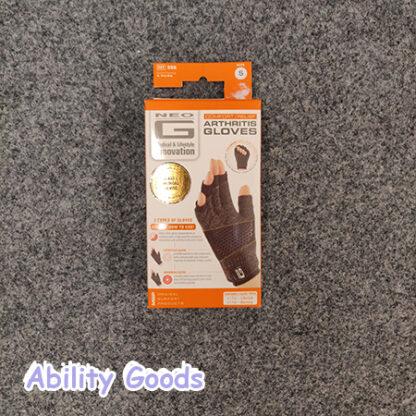 example box of arthritic gloves