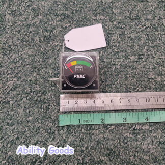 pmmc common battery meter for showing power and range left