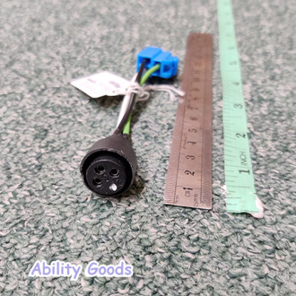 This item is a 3-pin charging point for attachement to a mobility scooter
