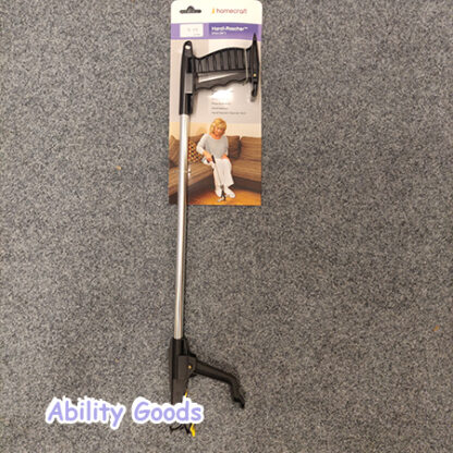 a grabber such as this can be used for picking up leaves outside