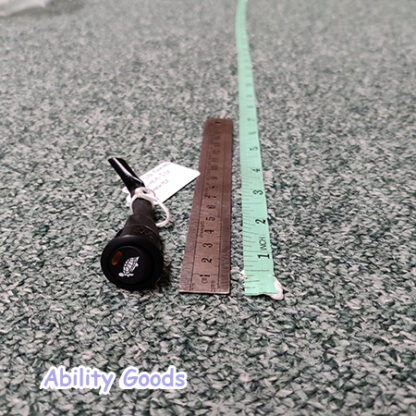 black plastic speed switch with light for mobility scooter