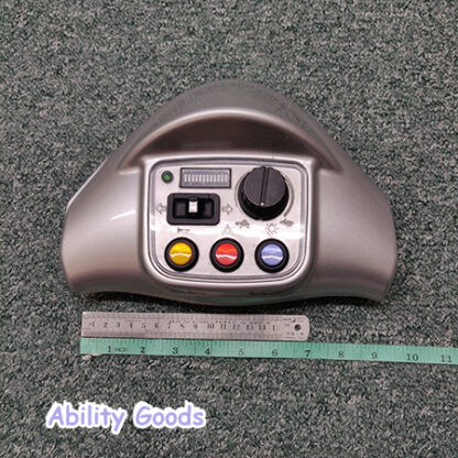 complete head unit with speed potentiometer for a kymco foru midi xls mobility scooter